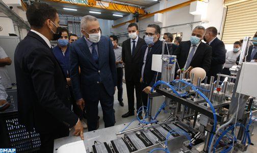 جهاز 100 في المائة مغربي لتصنيع الكمامات الواقية