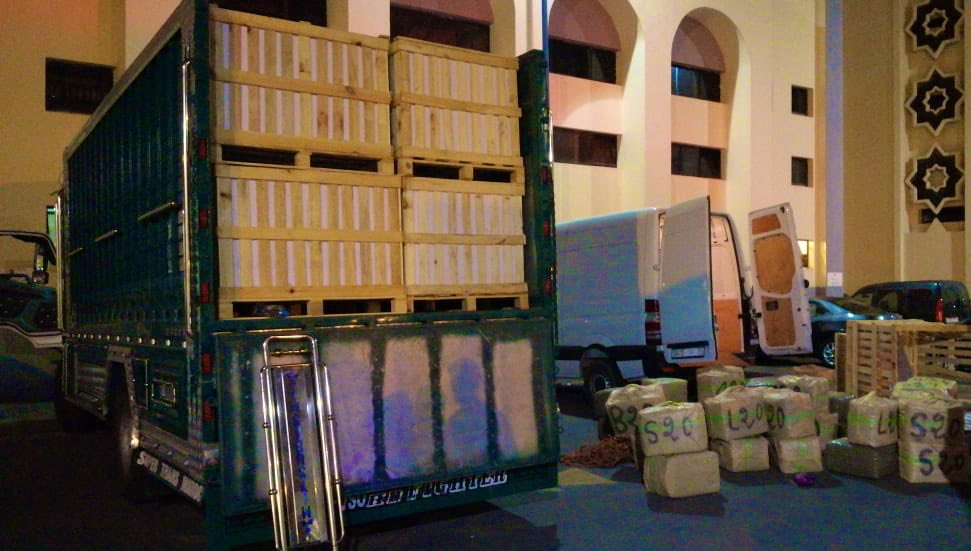 حجز الأطنان من الحشيش بضواحي الدار البيضاء