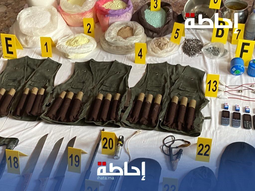 تفاصيل العثور على مواد قابلة للانفجار في مرآب شقة شقيق زعيم الخلية الارهابية