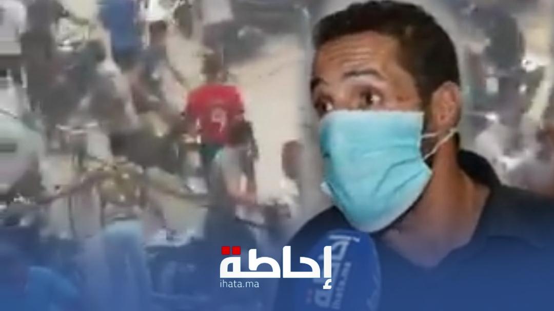 فيديو.. تبادل الضرب والجرح خلال مباراة لكرة القدم بمراكش