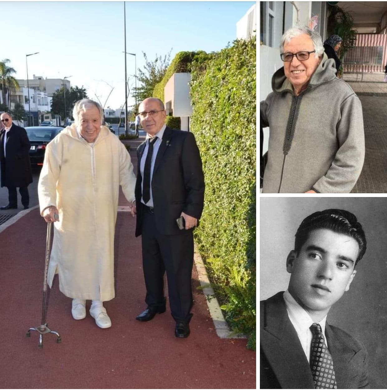جلالة الملك يعزي أفراد أسرة المرحوم حمادي التونسي