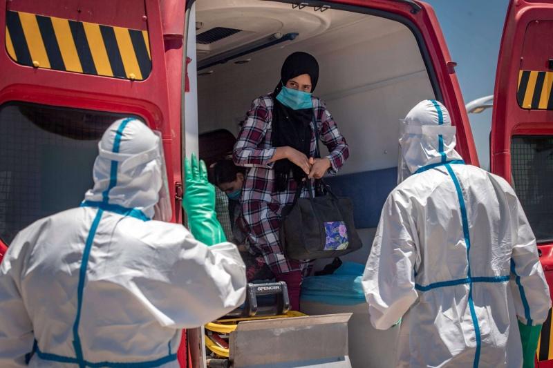 عدد حالات الإصابة بفيروس كورونا في المغرب