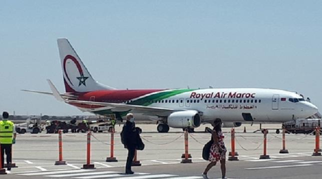 انخفاض حركة النقل الجوي بمطارات المملكة بأزيد من 71 في المائة