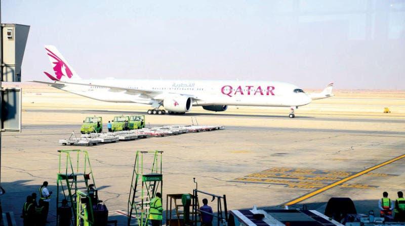 مصر تعيد فتح أجوائها أمام الطائرات القطرية