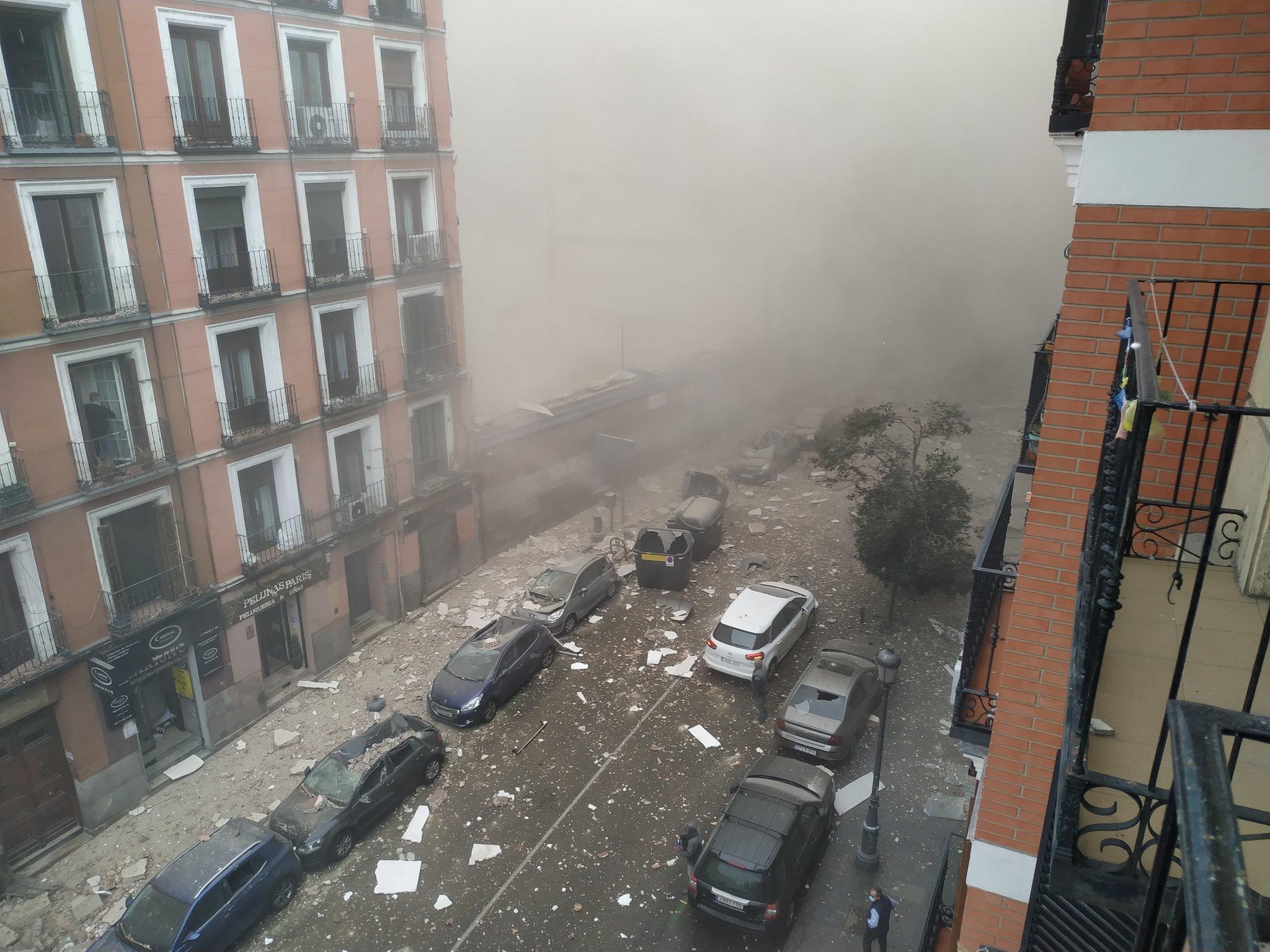 اسبانيا.. انفجار عنيف يهز العاصمة مدريد