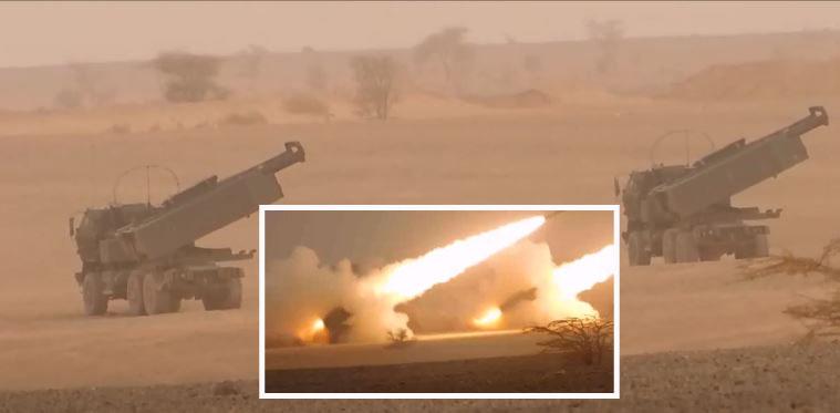 الأسد الإفريقي.. إطلاق قذائف من راجمات صواريخ بعيدة المدى وإنزال عدد كبير من المظليين بالمحبس (فيديو)